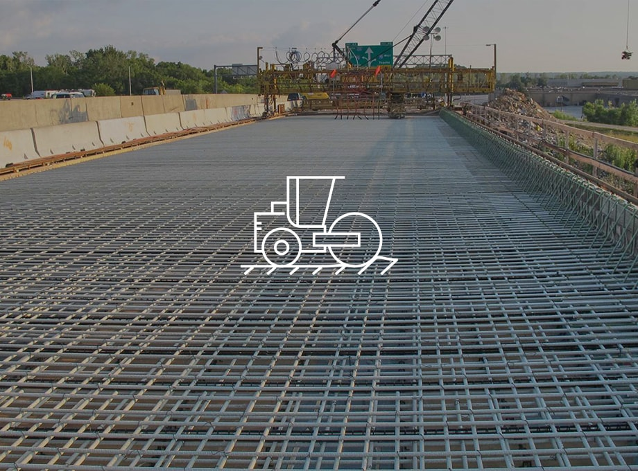 Reinforcement of roads