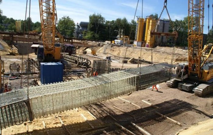 Undeground construction reinforcement