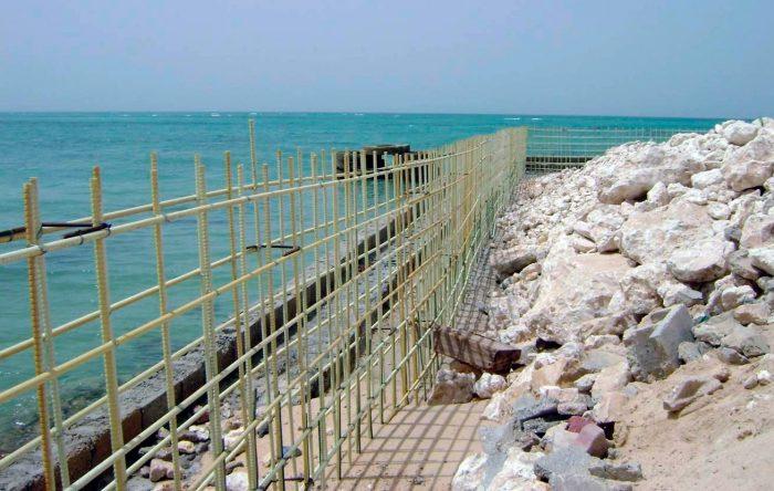 Крайбрежни укрепления в Катар