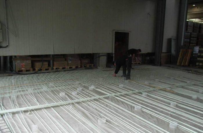 подсилване на пода
