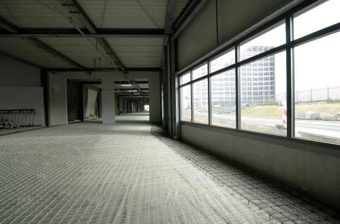 concrete floor reinforcement with gfrp rebar