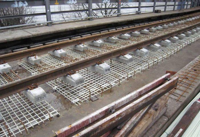 Railway reinforcement