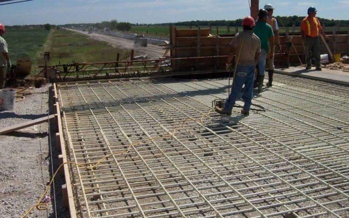 Road bridge reinforcement